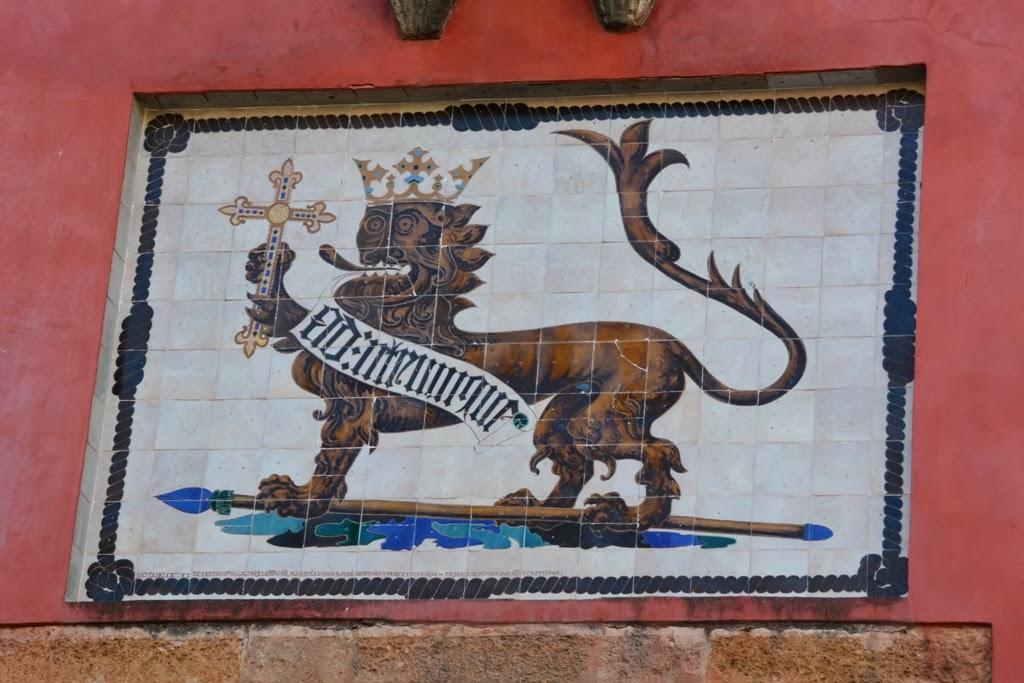 El Alcazar Sevilla Lion