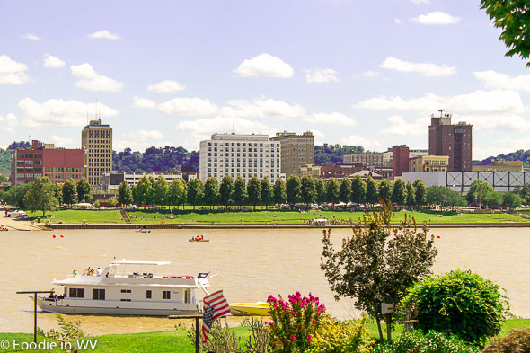Huntington, WV from across the Ohio River