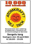 10 000 MOT KÄRNKRAFT!