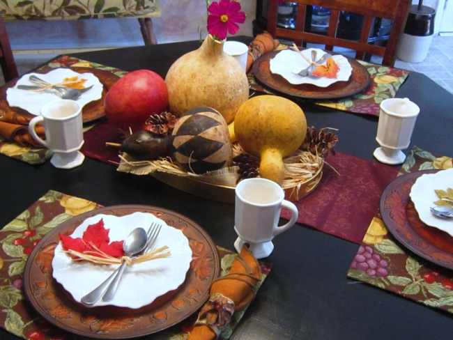 Budget Decor: Natural Fall Centerpiece