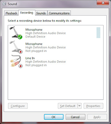 how to make a headphone the default device on windows