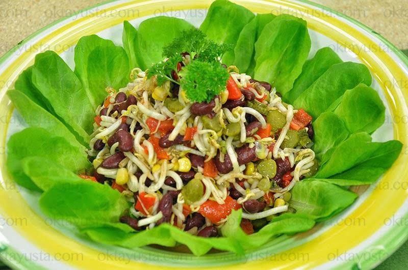 Soya Filizli Salata Tarifi Kolay Yapımı