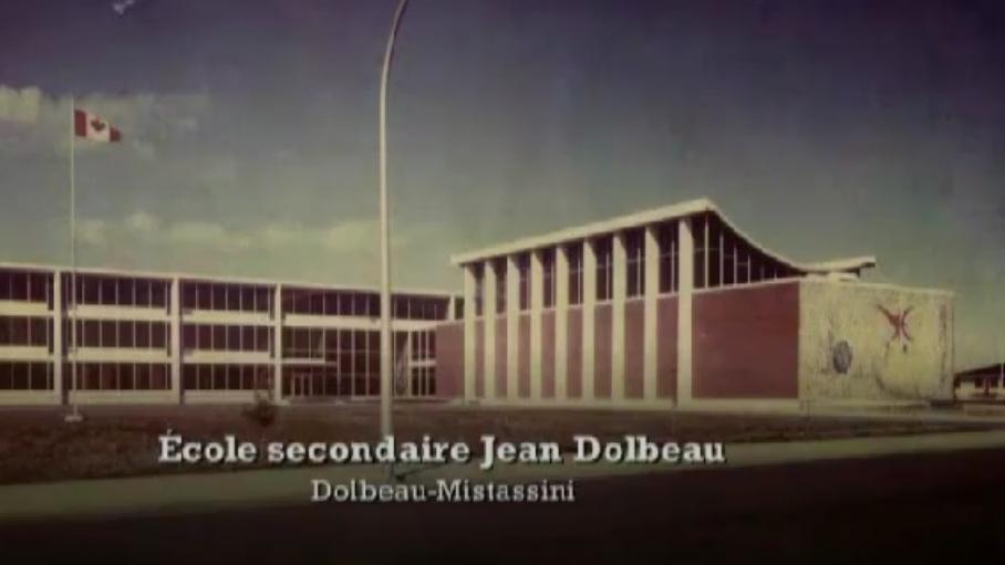 1964-MISTASSINI-ÉCOLE SECONDAIRE JEAN DOLBEAU