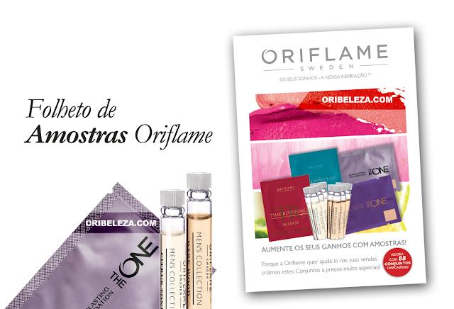 Folheto de Amostras da Oriflame - Novembro de 2014