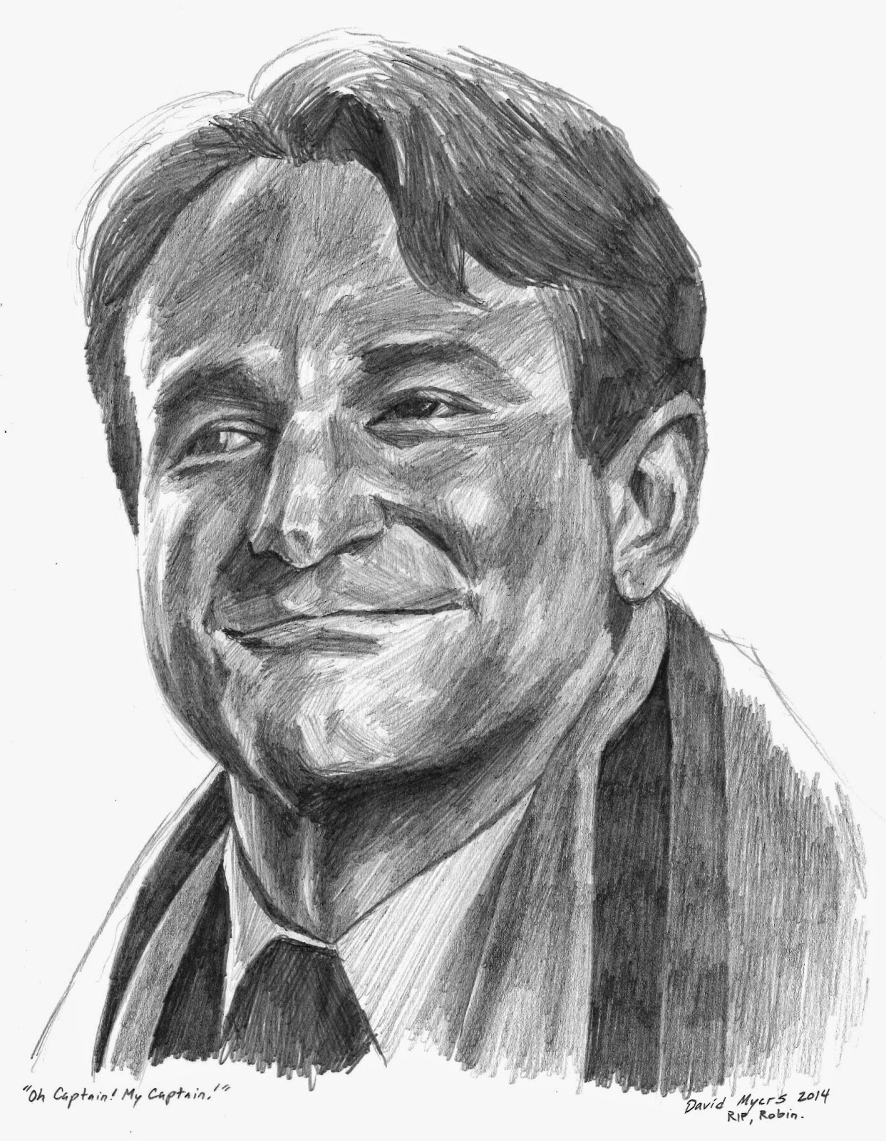 the art of david myers you had such a kind face robin i think that the reason that the kindness in your characters was so real was due to the pain you had experienced