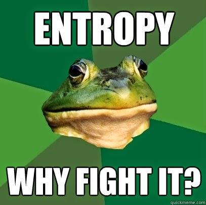 bachelor frog entropy funny