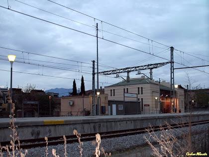 Estació de Llinars del Vallès. Autor: Carlos Albacete