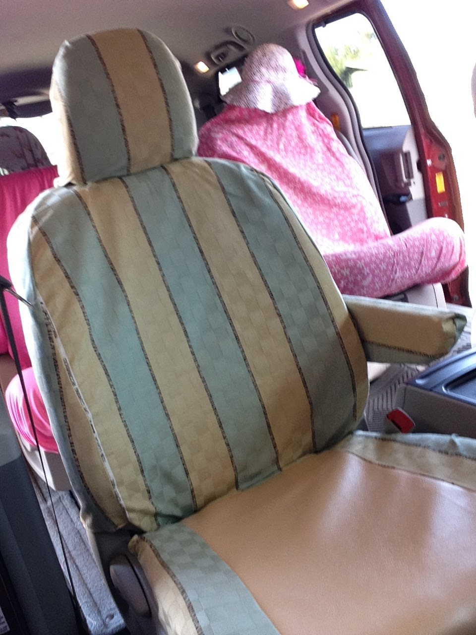 It Took Me Five Seat Covers To Somewhat Perfected Of How Make Onebut I Did And Cost My Time Just Fabric That Purchased Years Ago