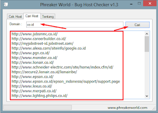 Download Bug Host Checker V1.3