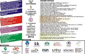 Congreso Trata Villa María 2012