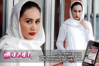 Marsha Milan Londoh converts to Islam,Mr.Z visit Marsha Milan Londoh family in Sabah