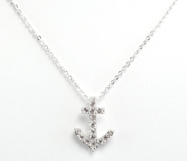Silver Anchor Necklace3