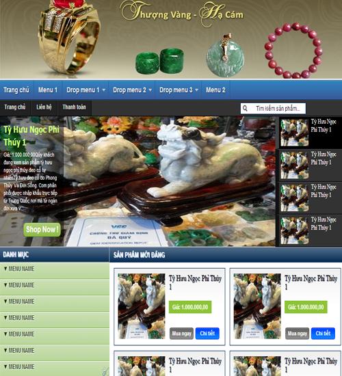 Template blogspot bán hàng mv1