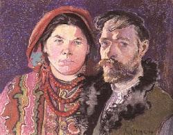 Autoportret Stanisława Wyspiańskiego z żoną z 1904 roku