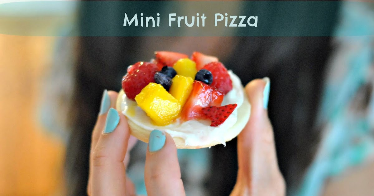 kate 39 s kitchen mini fruit pizza. Black Bedroom Furniture Sets. Home Design Ideas