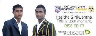 Mahinda Richmond Big Match 2013 108 Lovers Quarrel