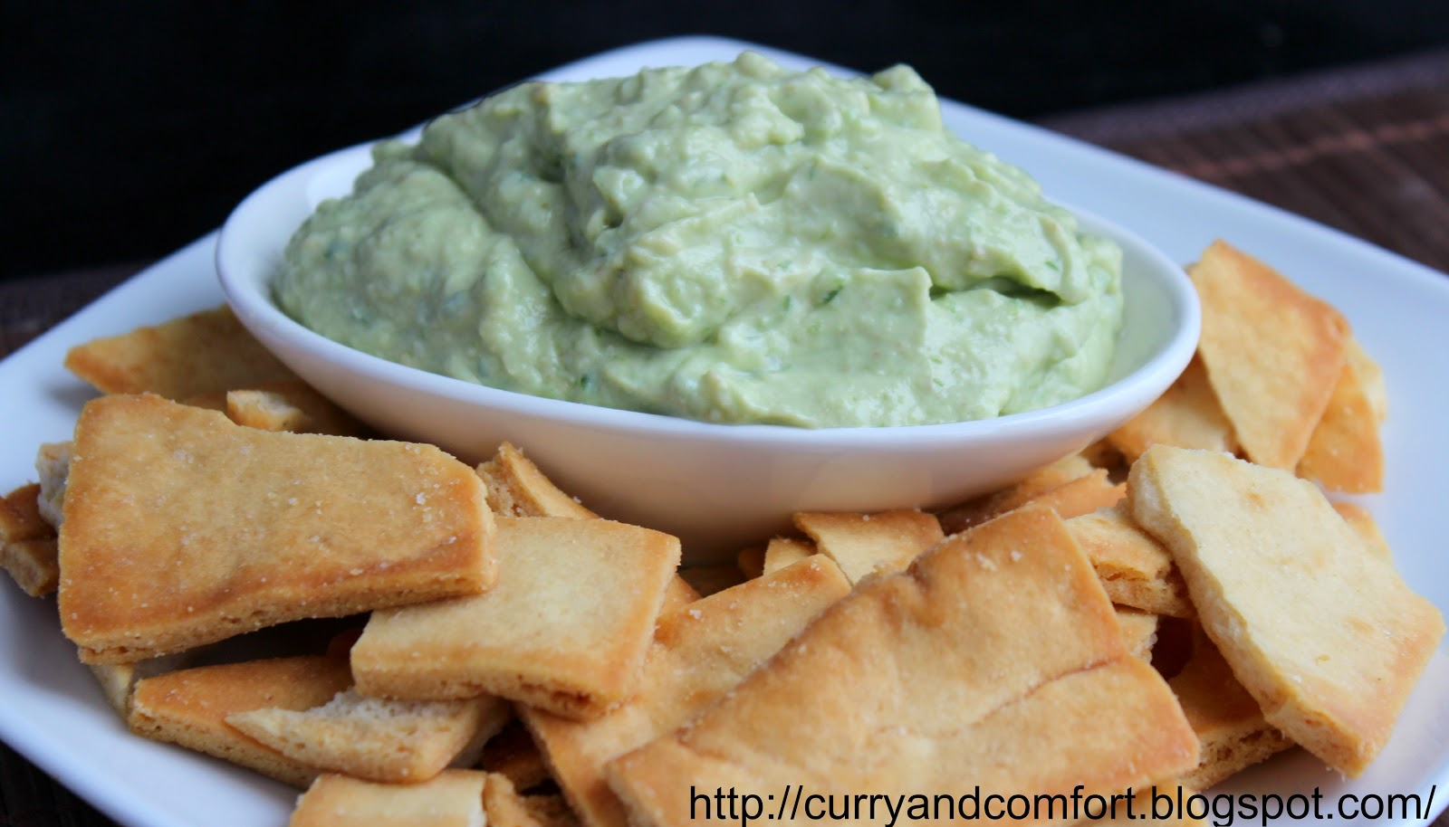 Spicy and Creamy Guacamole Dip