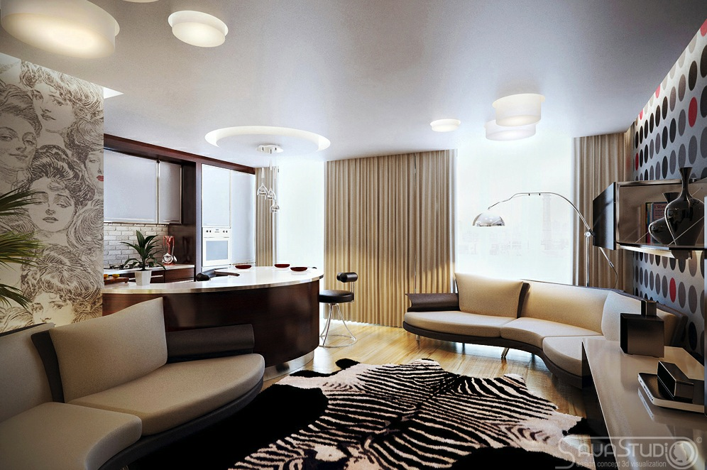 Jalan Rumah Contemporary Interior Design With Little Feminine Style