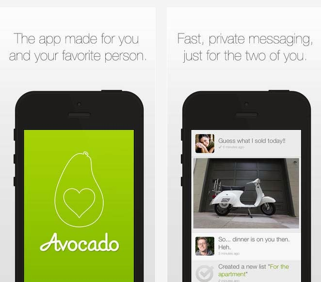 Avocado Private Social Network iPhone App