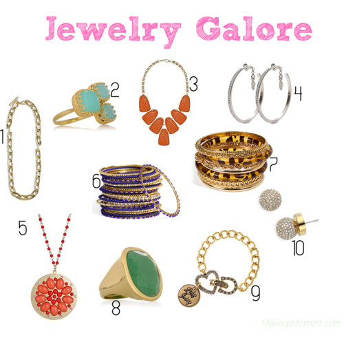 fashion crave jewelry makeup moment