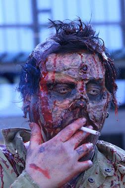 HANGOVER zombie: Markus Staaf. Make-up: Ari Savonen.