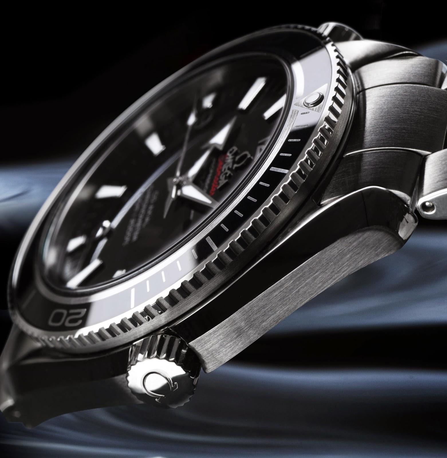 Omega Seamaster Planet Ocean Liquidmetal® watch replica