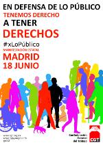 Campaña: En defensa de lo público