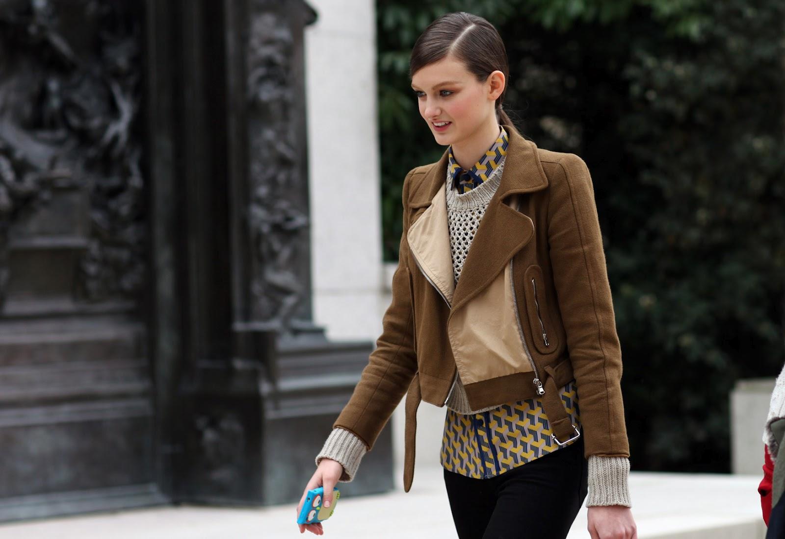 Klarella Inspirations Street Style Paris Fashion Week Fall 2012