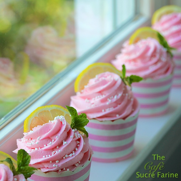 Pink Lemonade Confetti Cupcakes Recipes — Dishmaps