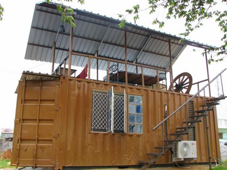 Casas contenedores la primera casa contenedor en - Casas hechas de contenedores ...