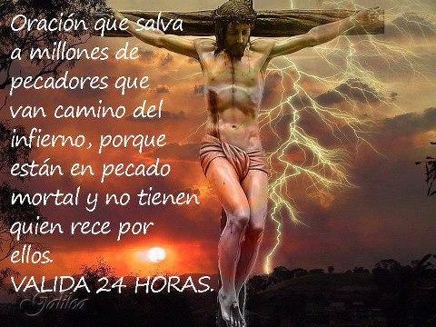 ¡Oh, Jesús, Redentor del hombre!, que tanto sufriste por el amor y la salvación de los pecadores, s