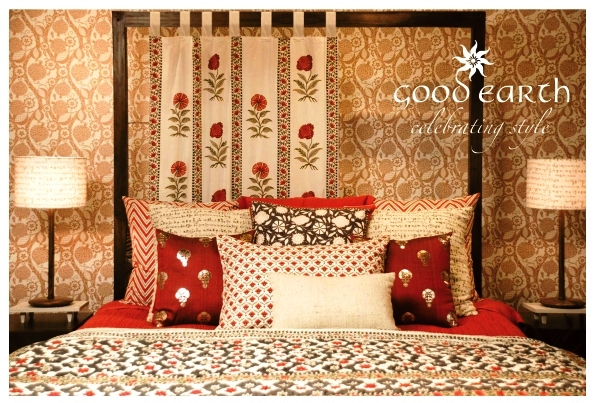 An indian summer the good earth story for Good earth home decor india