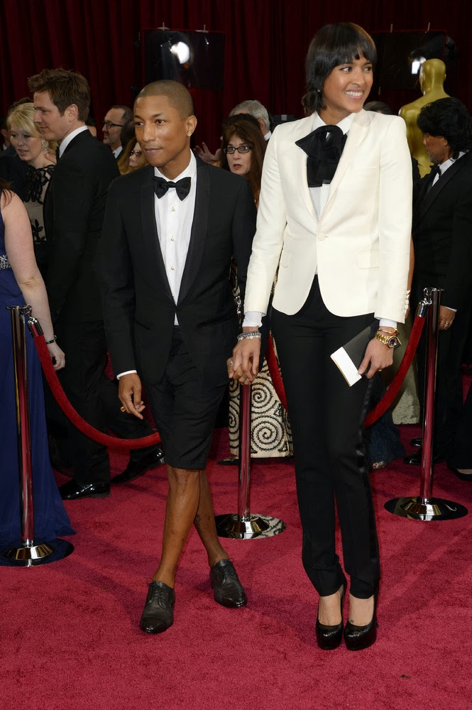 Pharrell Williams and His Wife
