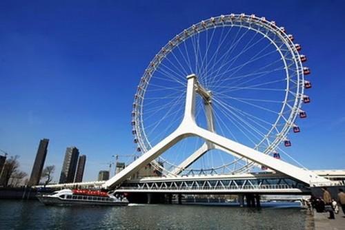 Puentes más curiosos del mundo - Tianjin Eye, China