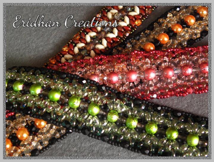 beaded bracelet free pattern