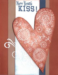 enjoy new year kiss wallpaper