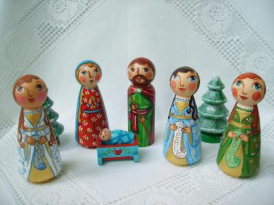 Szopka bożonarodzeniowa Święta Rodzina kołyska stajenka Jezus Chrystus Maryja Józef Trzej Królowie pasterze anioł gwiazdka