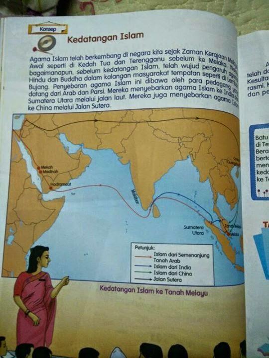 Ralat Buku Teks Sejarah Tahun 5
