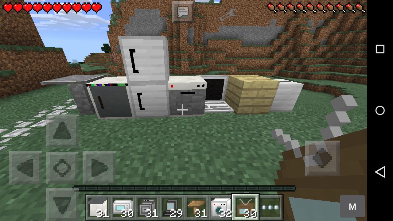 Mod Furniture Mod Minecraft Pe Pocket Mcpe