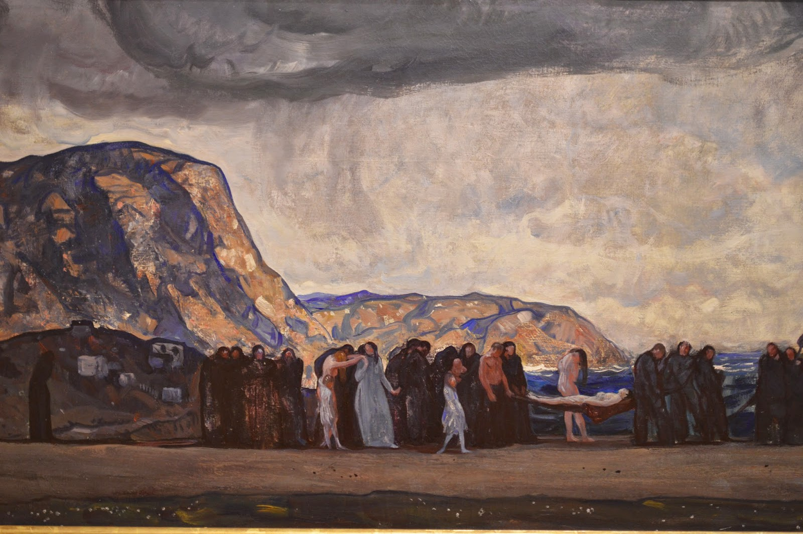 Rockwell Kent, Burial of a Young Man
