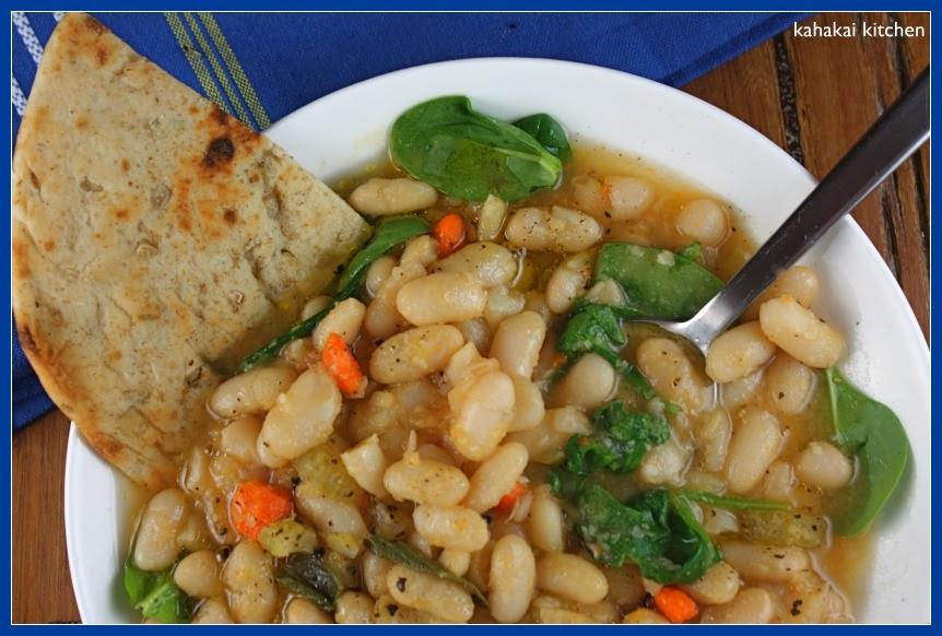 Kahakai Kitchen: Cannellini Beans with Olive Oil (Fagioli ...