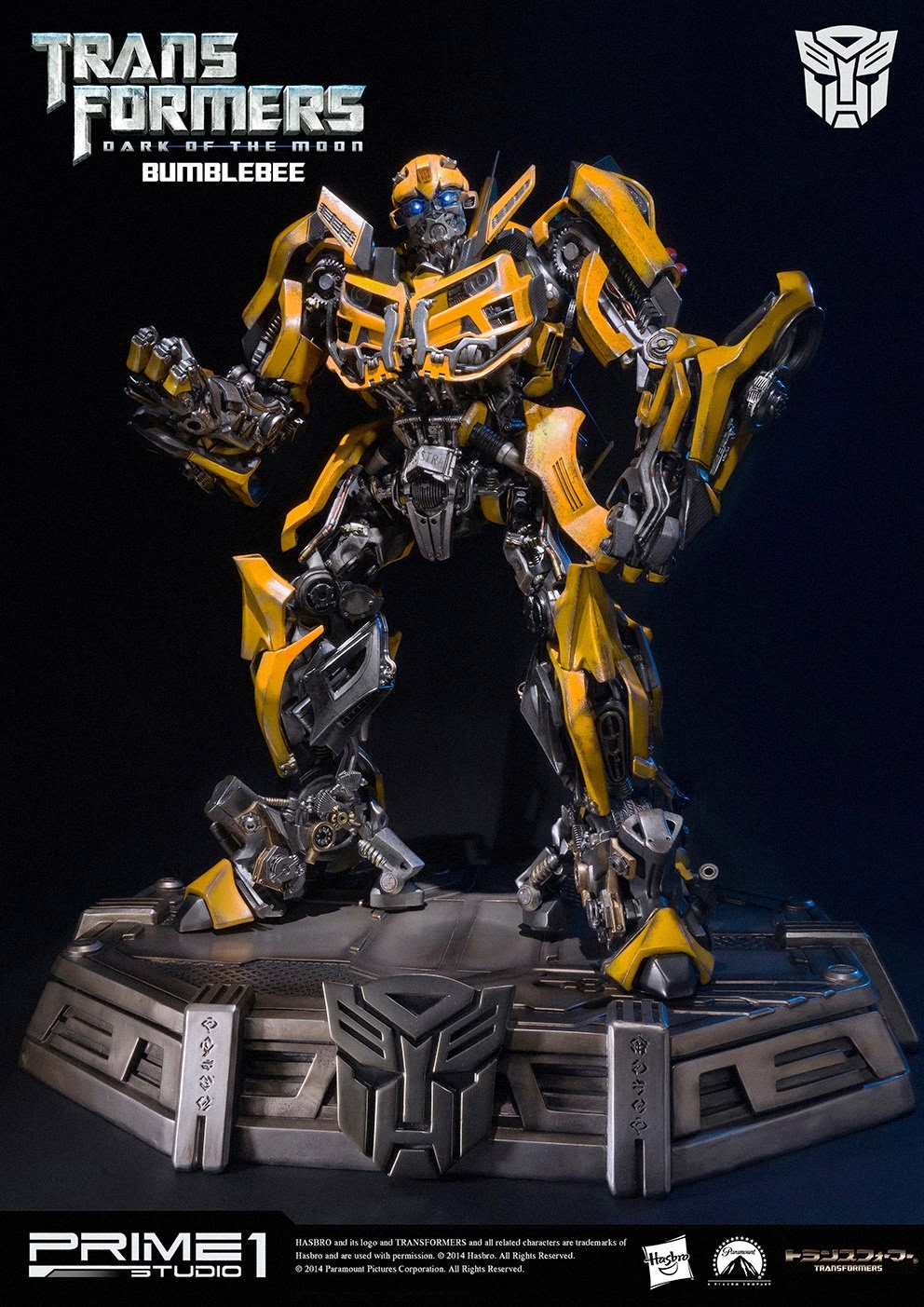 Ecco Bumblebee della Prime 1 Studio
