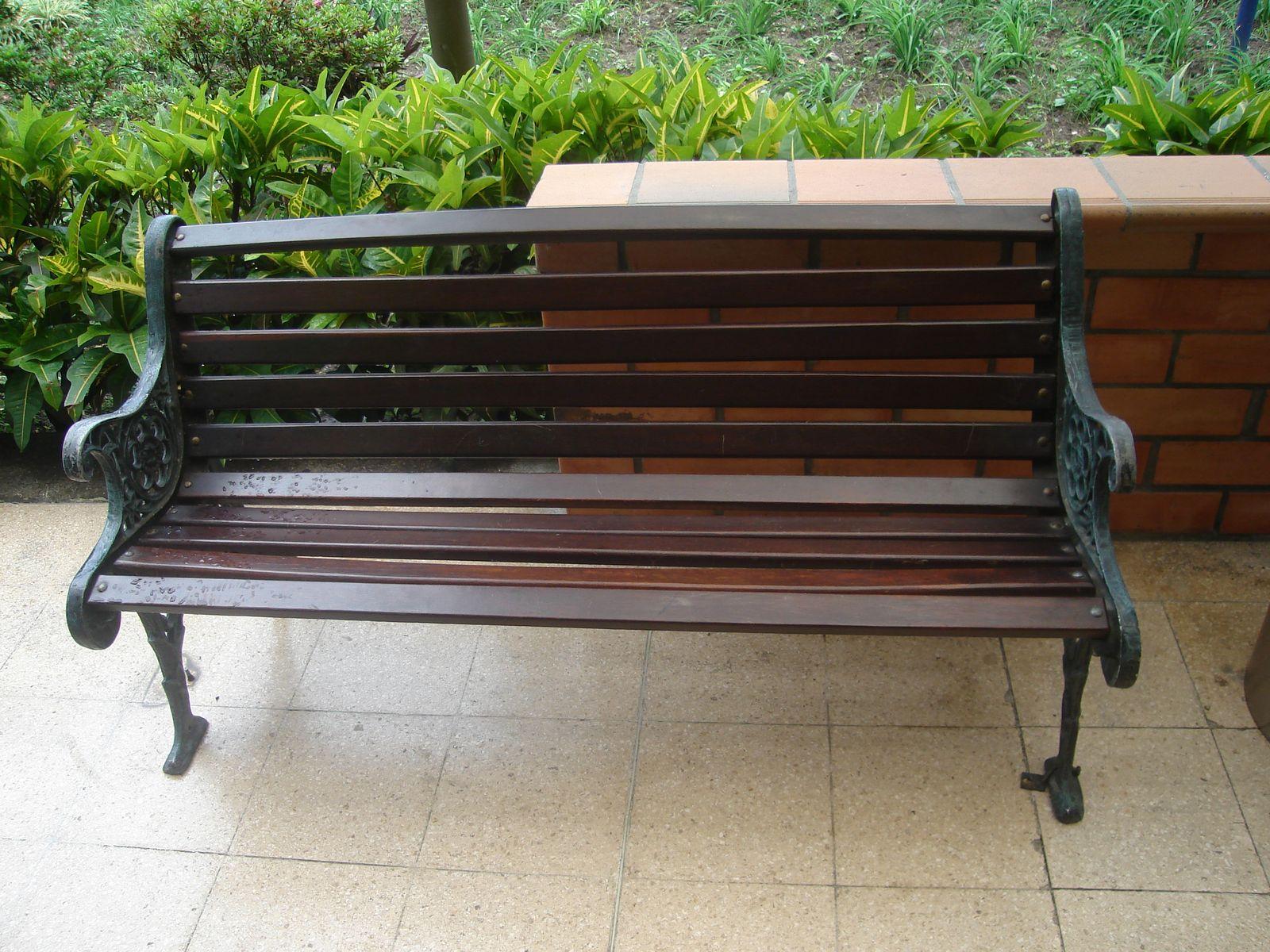 Fundici n de aluminio r y z silla china o de parque for Sillas para parques