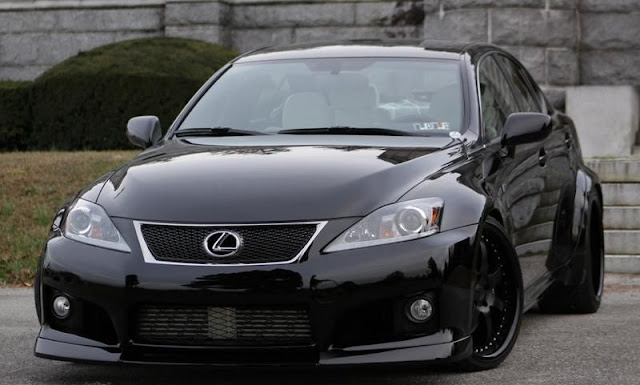 "Lexus IS F Twin Turbo ""Black Mamba"" by Fox Marketing gassguzzler"