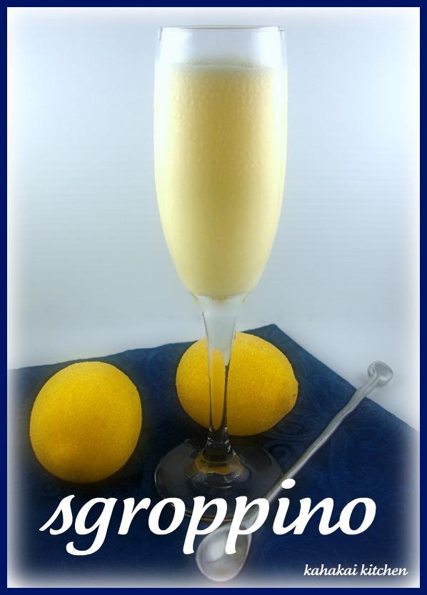 Kitchen: Gelato al Limone (Lemon Ice Cream) and Sgroppino (Lemon ...