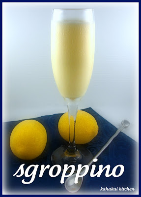Gelato al Limone (Lemon Ice Cream) and Sgroppino (Lemon Chill--a ...