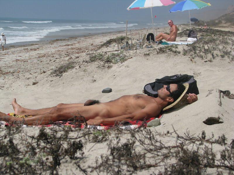 Naked Men Sunbathing Nude