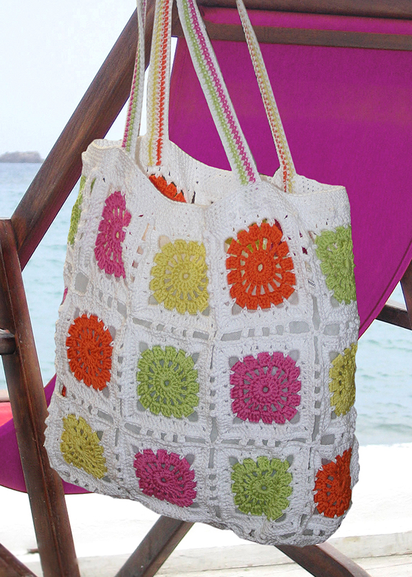 Free Crochet Patterns For Tote Bags And Purses : Bag Gloves Images: Free Crochet Bag Patterns