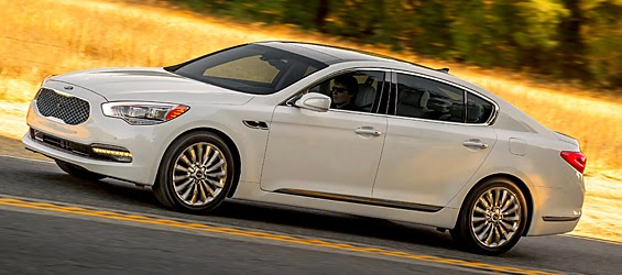 What's new?  The joys of driving a $66K Kia K900