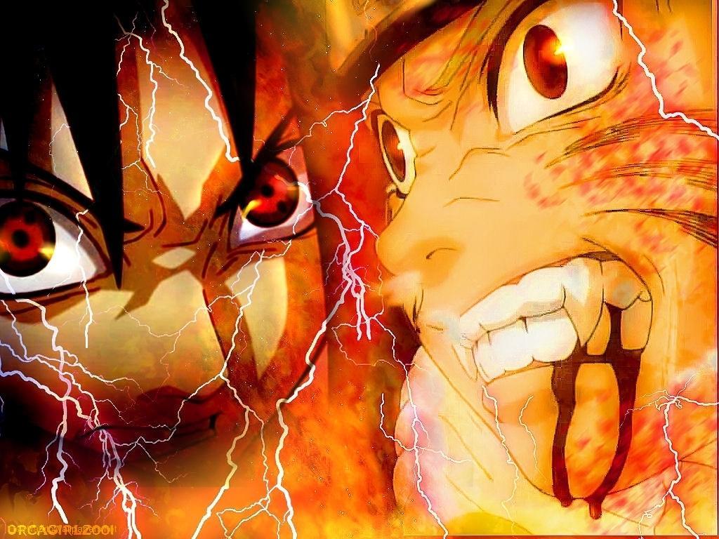 Fun never ends naruto vs sasuke - Demon de sasuke ...